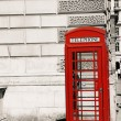 London Red Telephone Booth — Foto de Stock