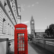 Big Ben and Red Phone Booth — Stock Photo #10279897