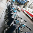 London's bicycle sharing scheme — ストック写真