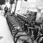 London's bicycle sharing scheme — Stock Photo