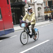 London's bicycle sharing scheme — Stock Photo #9725077