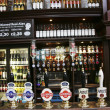 Inside view of a english pub — Stock Photo #9728087
