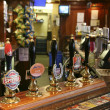 Inside view of a english pub — Stock Photo #9728403