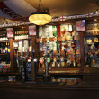 Inside view of a english pub - Stock Photo