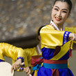 Korean ethnic dance performance — Stock Photo