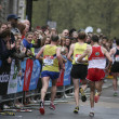 Stock Photo: London Marathon, 2010