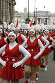 New Year's day parade in London — Stock Photo