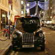 Taxi in the Bond Street - Stock Photo