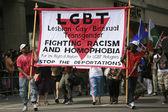 Desfile de orgullo gay — Foto de Stock
