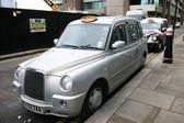 LONDON TAXI — Stockfoto