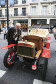 Londynu do brighton weteran uruchomić samochód — Zdjęcie stockowe