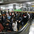 Inside view of Seoul Metropolitan Subway — Stock Photo