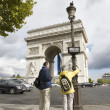 Foto Stock: Arc de triumph
