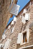 Tipik Akdeniz Caddesi — Stok fotoğraf