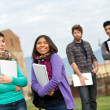 Multicultural College Students — Stock Photo #10382267