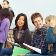 Multicultural College Students — Stock Photo #10382297