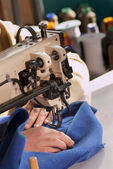 Industrial Sewing Machine — Stock Photo