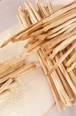 Freshly baked breadsticks — Stock Photo