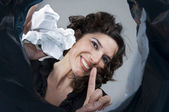 Proper waste disposal — Stock Photo