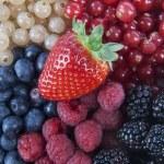 Mixed Berries — Stock Photo