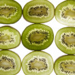 Cut kiwi — Stock Photo