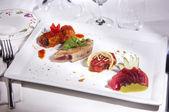 Dish prepared fish — Stock Photo