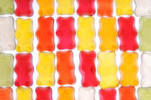 Group of colorful gummy bears — Stock Photo