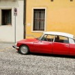 Red beauty - Citroën DS — Stock Photo