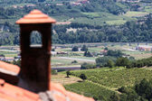 Wine region of Italy, roof view — Photo