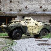 Veicolo corazzato — Foto Stock