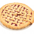 Stock Photo: Raspberry pie