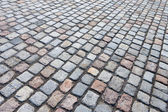 Granite stones road — Stock Photo