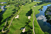 Vista aérea de buen golf municipal florida — Foto de Stock