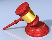 Gavel set A — Stock Photo