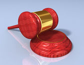 Gavel set B — Stock Photo
