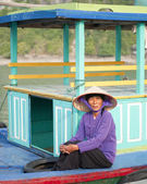 Tuat - Halong Bay Resident — Stock Photo