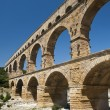 The Roman Aquaduct - Pont du Gard — Stock Photo
