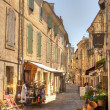 Narrow Winding street of Uzes France — Stock Photo #10397056