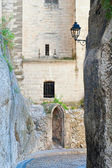 Small Old Doorway in Avignon France — Stock Photo