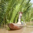 Small Boat from Ben Tre Province — Stock Photo #10552577