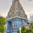 Hindu Temple in Singapore - Stock Photo