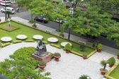 Ho chi minh rzeźby — Zdjęcie stockowe