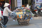 Transportation in Hanoi — Stock Photo
