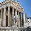 Stock Photo: Temple of Augustus
