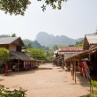 Main Street of Muangeko Village - Foto de Stock