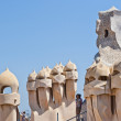 Casa Mila by Antonio Gaudi - Stock Photo