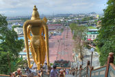 Lord Murugan Statue at Batu Caves — Stock Photo