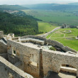 Ruins of Spis Castle (Spissky Hrad) in Slovakia - panorama - Stock Photo
