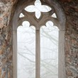 Window Of Medieval Castle - Stockfoto