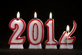 Year 2012 - candles — Stock Photo